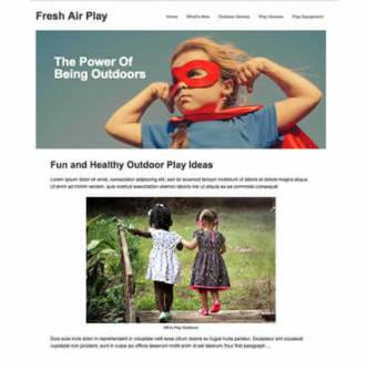 Fresh Air Play Design