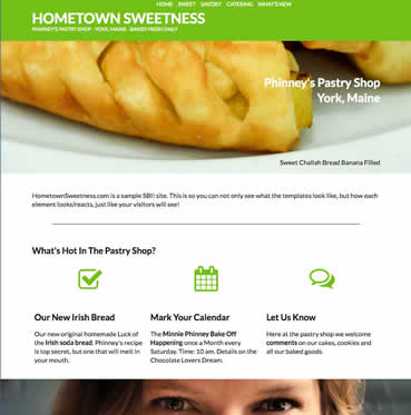 Home Town Sweetness Design