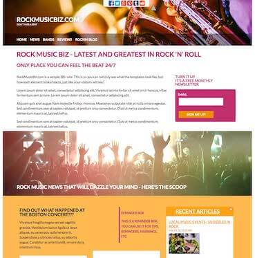 Rock Music Design