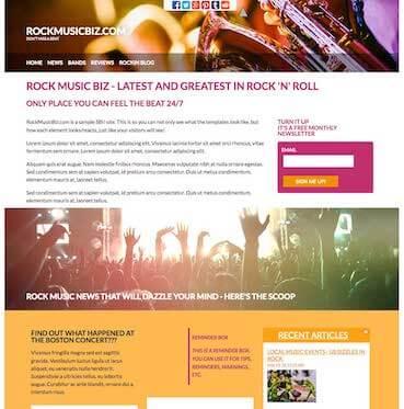 Rock Music Design