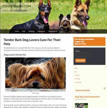 Tender Bark Design