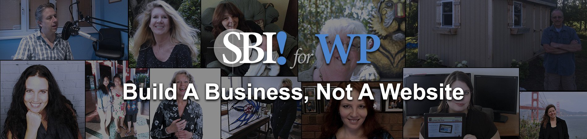 Everyday people build extraordinary web businesses with SBI! for WP. Every day.