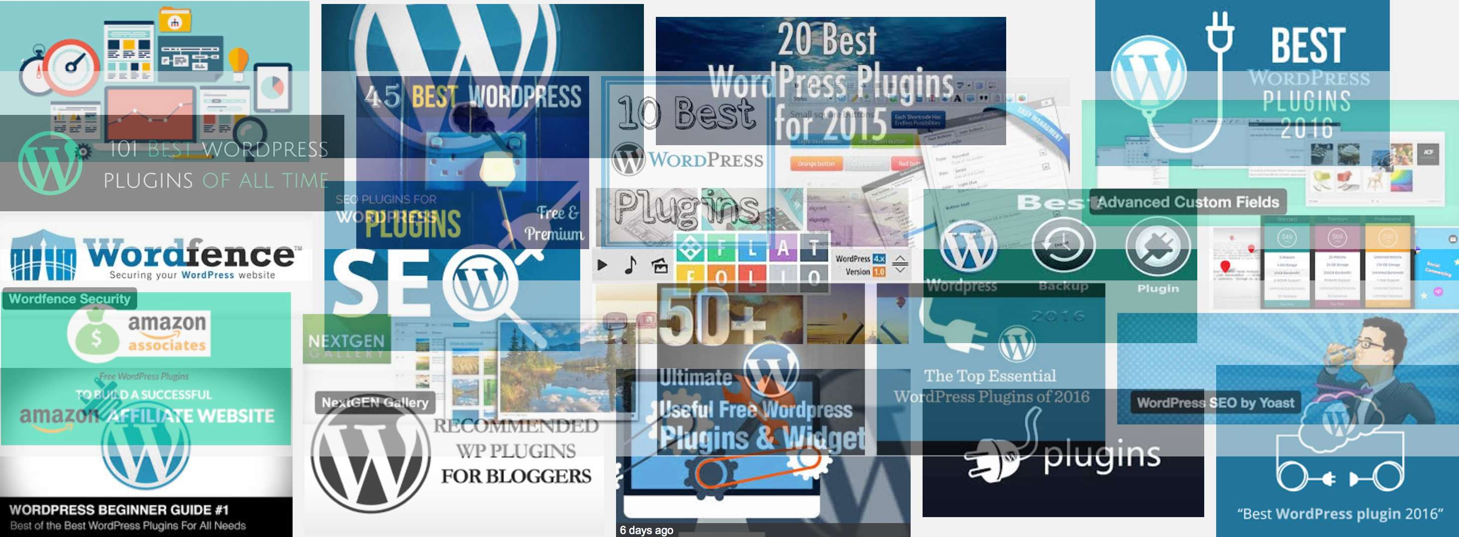 WordPress plugins choice